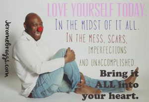 love yourself in the midst